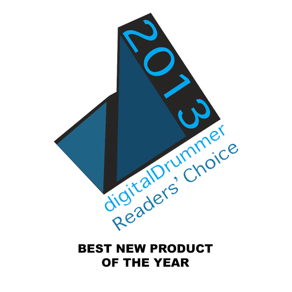 Digital Drummer Readers' Choice Best New Product 2013